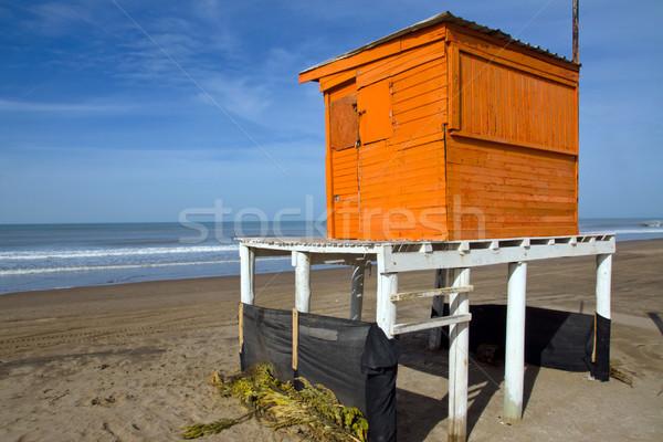 Narancs úszómester torony argentín Stock fotó © elxeneize