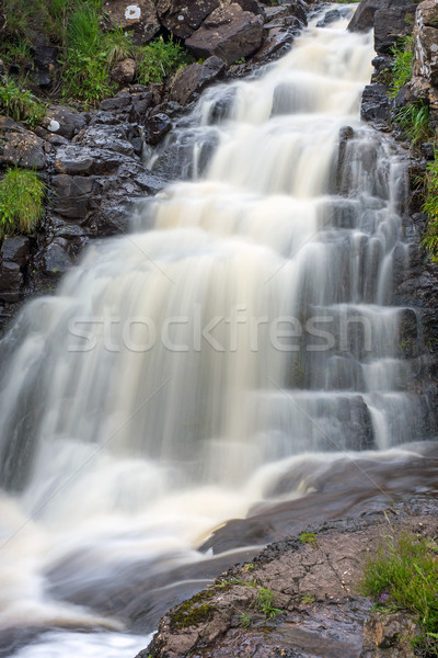 Waterfall in Scotland Stock photo © elxeneize