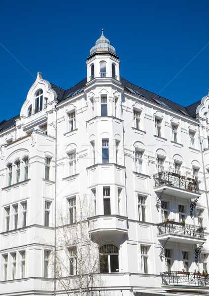 Old residential building in Berlin Stock photo © elxeneize