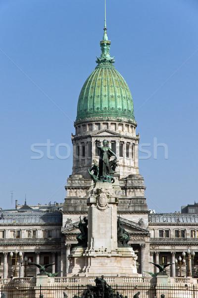 Palacio del Congreso Stock photo © elxeneize