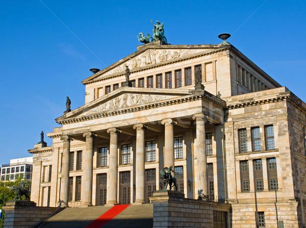 The Konzerthaus at Gendarmenmarkt Stock photo © elxeneize