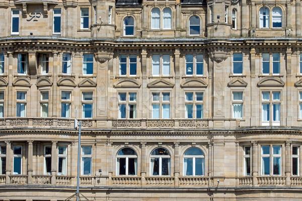 Detail of a victorian building Stock photo © elxeneize