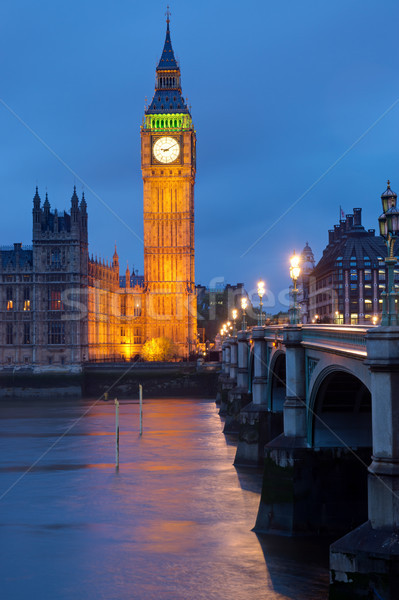 Tower of the Houses of Parliament Stock photo © elxeneize