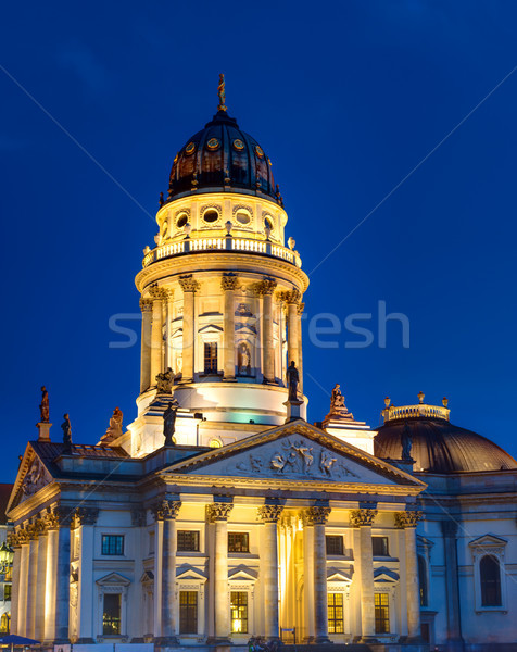 The German Church in Berlin Stock photo © elxeneize