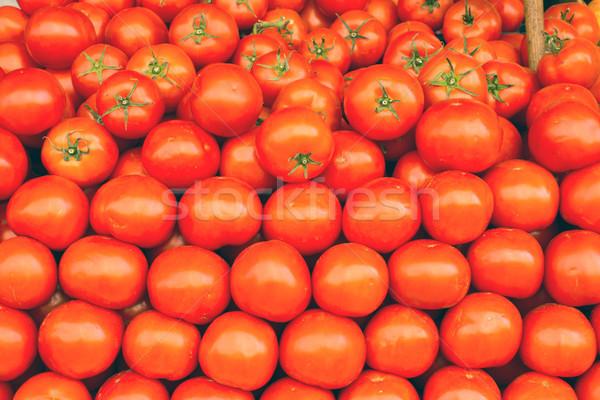 A pile of tomatoes Stock photo © elxeneize