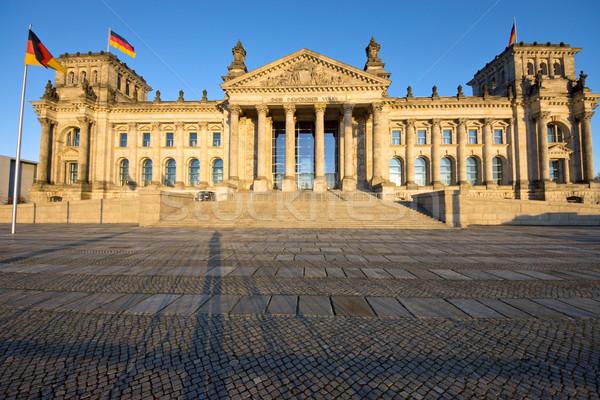 The Reichstag in Berlin Stock photo © elxeneize