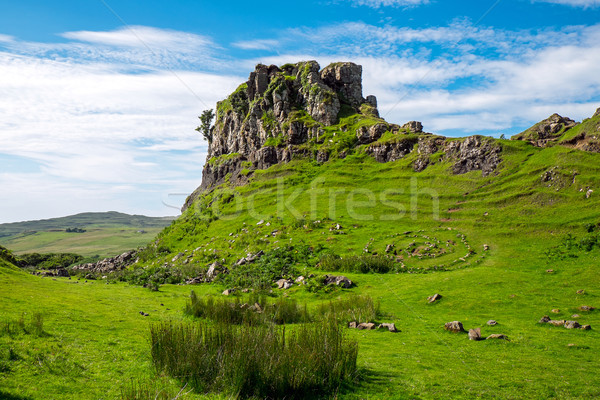 The Fairy glen on the Isle of Skye Stock photo © elxeneize