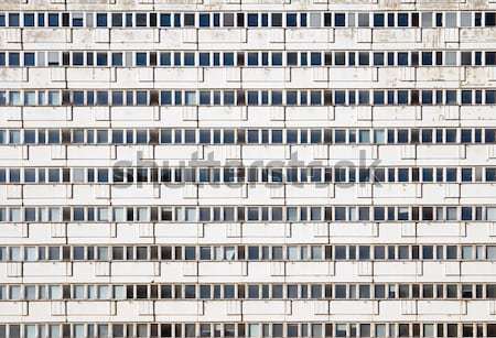 Precast apartment building Stock photo © elxeneize