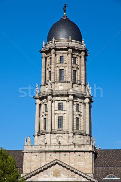 Vieux Berlin coeur bâtiment tour gouvernement Photo stock © elxeneize