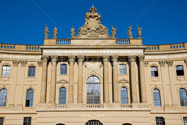 Alte Bibliothek in Berlin Stock photo © elxeneize