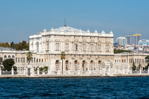 The Dolmabahce Palace in Istanbul Stock photo © elxeneize