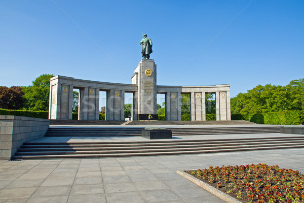 Soviet war memorial Stock photo © elxeneize