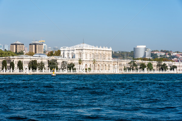 The beautiful Dolmabahce Palace Stock photo © elxeneize