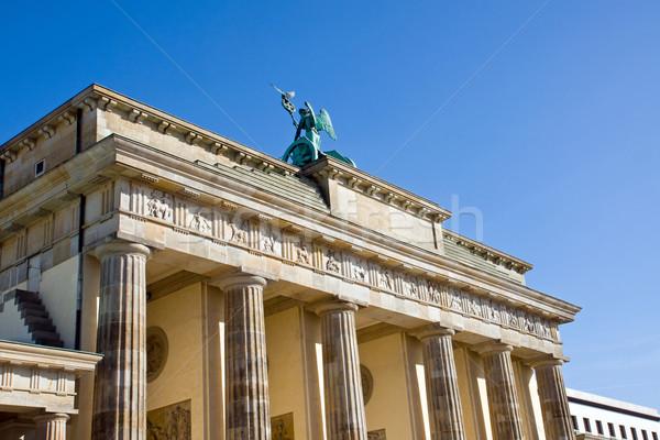 Backside of the Brandenburger Tor Stock photo © elxeneize