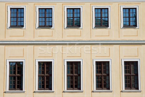 歴史的 ドレスデン 建物 ドイツ ストックフォト © elxeneize