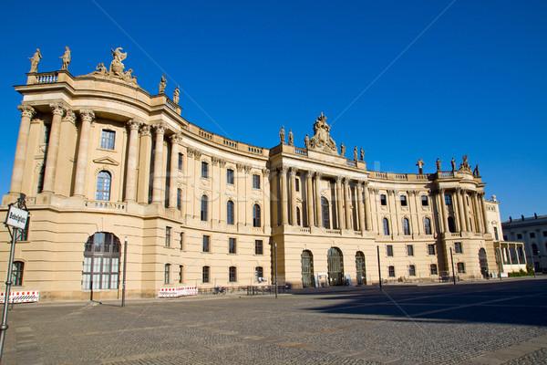 The Alte Bibliothek in Berlin Stock photo © elxeneize