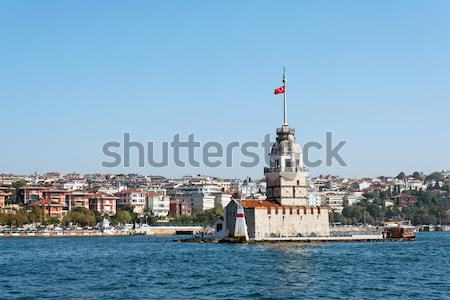 The famous Maidens Tower, Istanbul Stock photo © elxeneize
