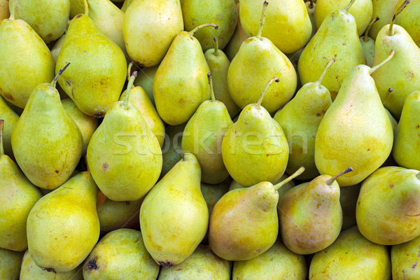 Pears at a market Stock photo © elxeneize