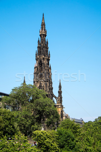 Stock photo: Scott Monument in Edinburgh