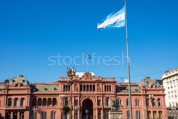 ünlü Buenos Aires Arjantin ev Bina şehir Stok fotoğraf © elxeneize