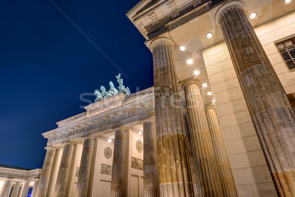 Detail of the Brandenburger Tor Stock photo © elxeneize