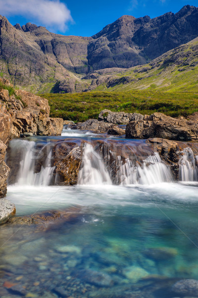 Beautiful Fairy Pools, Isle of Skye Stock photo © elxeneize