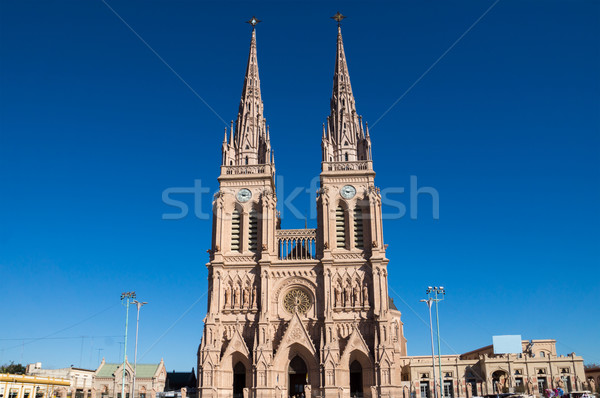 The cathedral of Lujan Stock photo © elxeneize