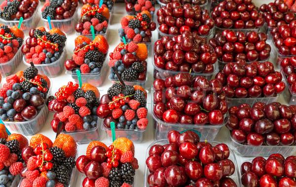 Small fruitbowles Stock photo © elxeneize