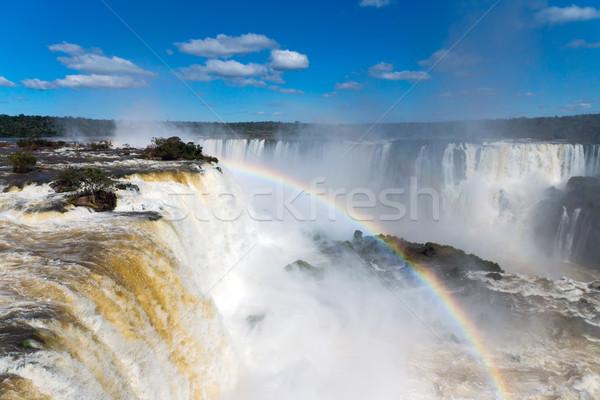 The wonderful Iguazu falls Stock photo © elxeneize