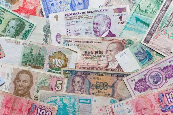 Different banknotes Stock photo © elxeneize
