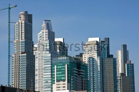Небоскребы Буэнос-Айрес Аргентина здании путешествия городского Сток-фото © elxeneize