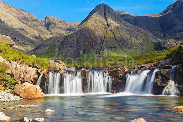 The Fairy Pools, Isle of Skye Stock photo © elxeneize