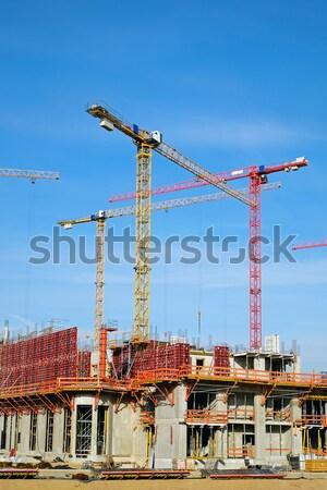 Construction site in Berlin Stock photo © elxeneize