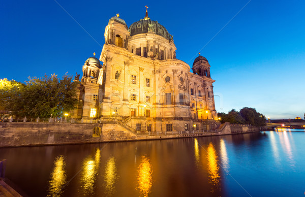 The back of the Dom in Berlin Stock photo © elxeneize