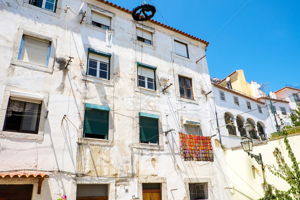 Stock photo: House in the Alfama district