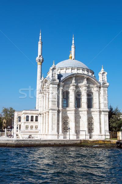 Moschea Istanbul Turchia panorama mare estate Foto d'archivio © elxeneize