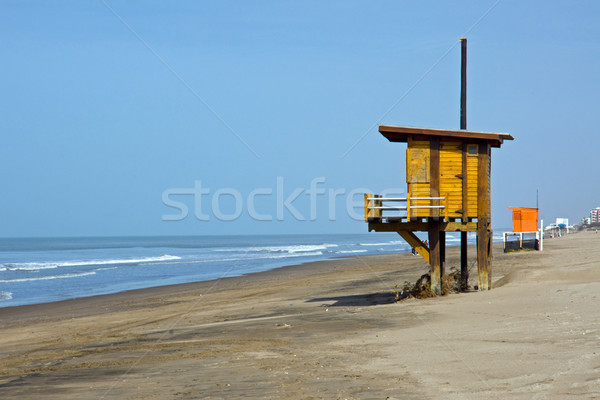 Stock photo: Beach at the argentinean atlantic coast