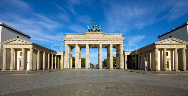 Panorama of the Brandenburger Tor Stock photo © elxeneize
