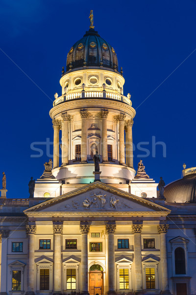 Church at the Gendarmenmarkt Stock photo © elxeneize