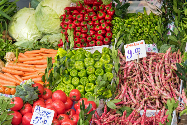Great choice of vegetables Stock photo © elxeneize