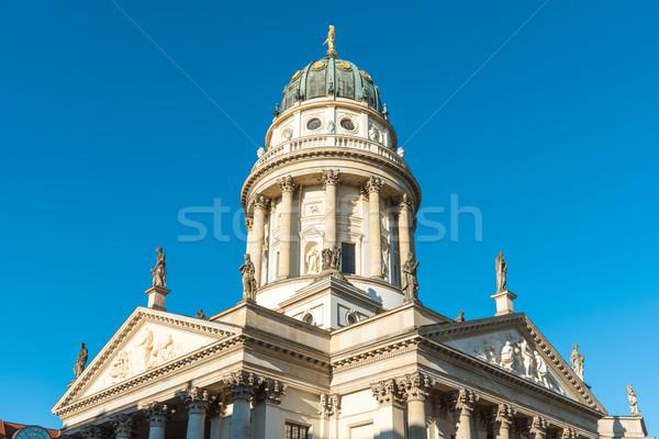 Cathedral at the Gendarmenmarkt in Berlin Stock photo © elxeneize