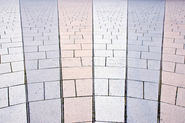 Stock photo: Concrete pavement