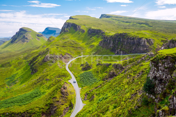 Amazing landscape in Scotland Stock photo © elxeneize