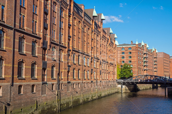 Stock photo: Buildings in the Speicherstadt