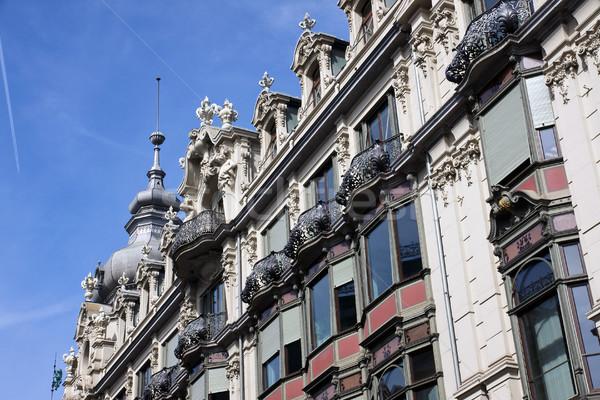 Beautiful architecture in Zurich Stock photo © elxeneize