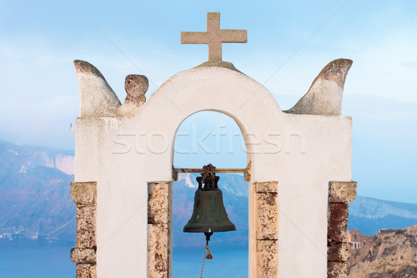 Small belltower in Oia Stock photo © elxeneize