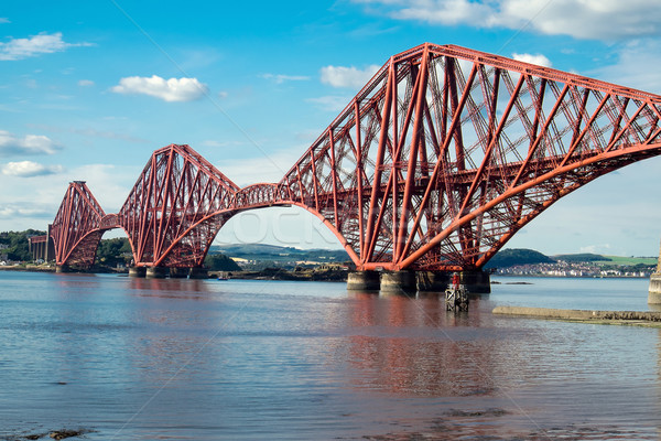 Forth railway bridge in Scotland Stock photo © elxeneize