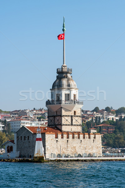 The Maidens tower in Istanbul Stock photo © elxeneize