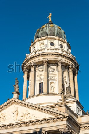 German cathedral at the Gendarmenmarkt Stock photo © elxeneize