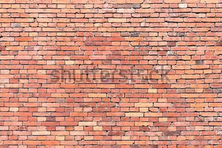 Vermelho fundo construção parede abstrato pedra Foto stock © elxeneize